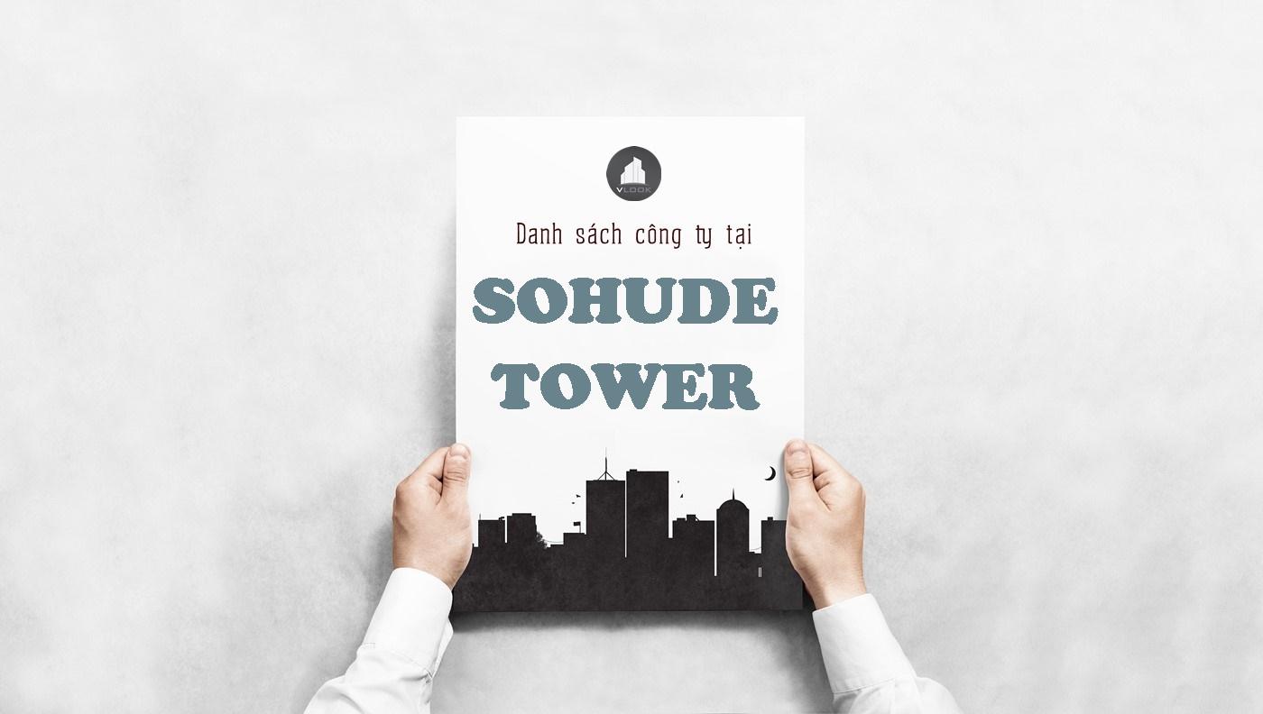 Danh sách công ty tại tòa nhà Sohude Tower, Nguyễn Trọng Tuyển, Quận Phú Nhuận