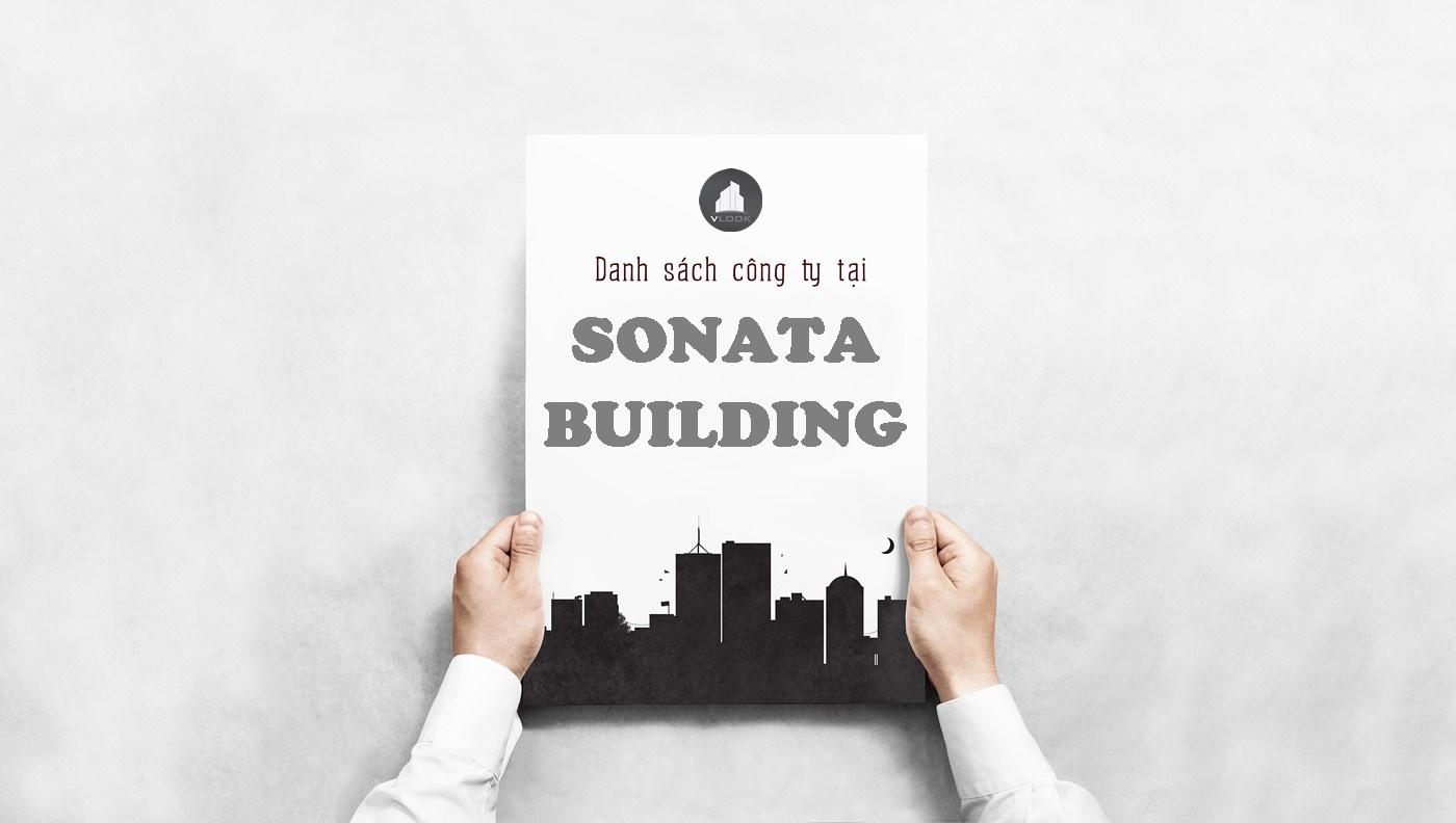 Danh sách công ty tại tòa nhà Sonata Building, Trương Quốc Dung, Quận Phú Nhuận