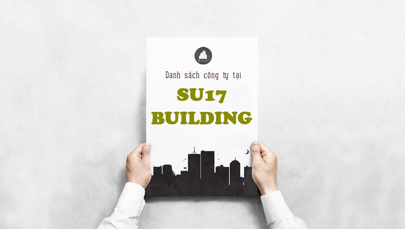 Danh sách công ty tại tòa nhà SU17 Building, Hồ Biểu Chánh, Quận Phú Nhuận