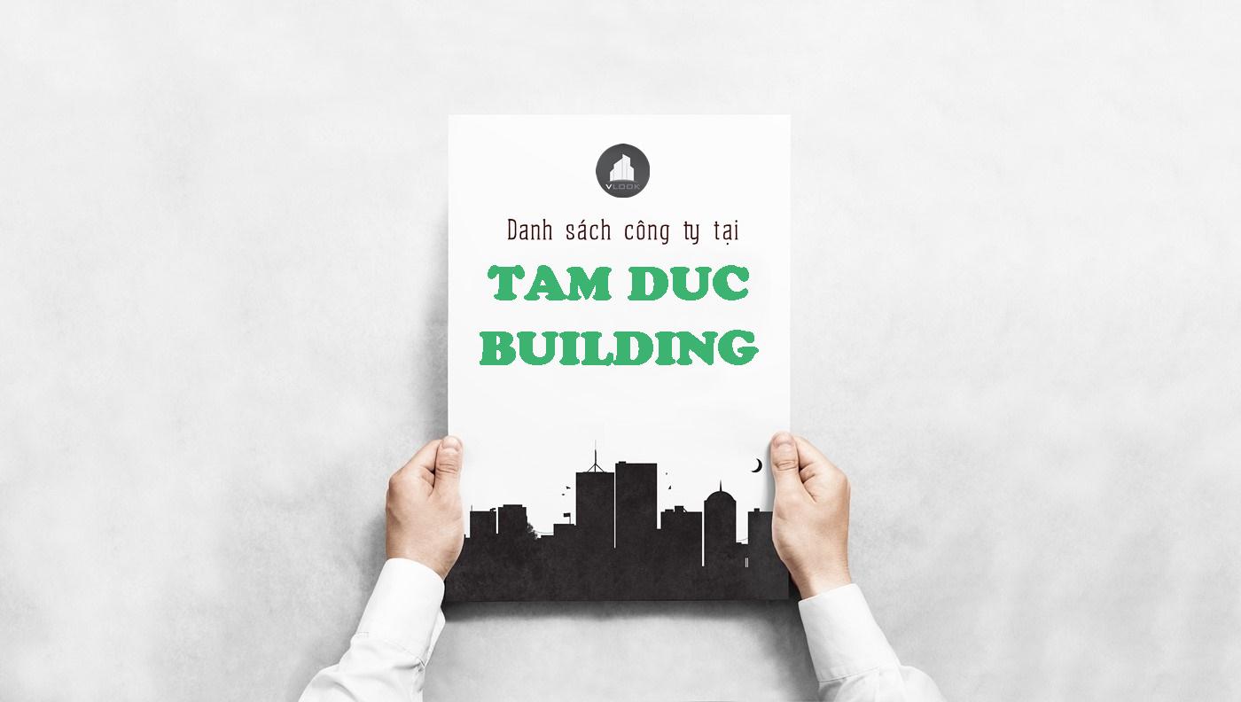 Danh sách công ty tại tòa nhà Tâm Đức Building, Điện Biên Phủ , Quận Bình Thạnh