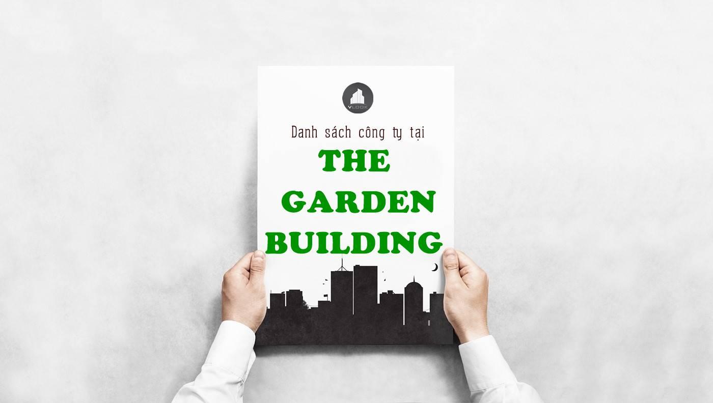 Danh sách công ty tại tòa nhà The Garden Building, Hòa Bình, Quận 11