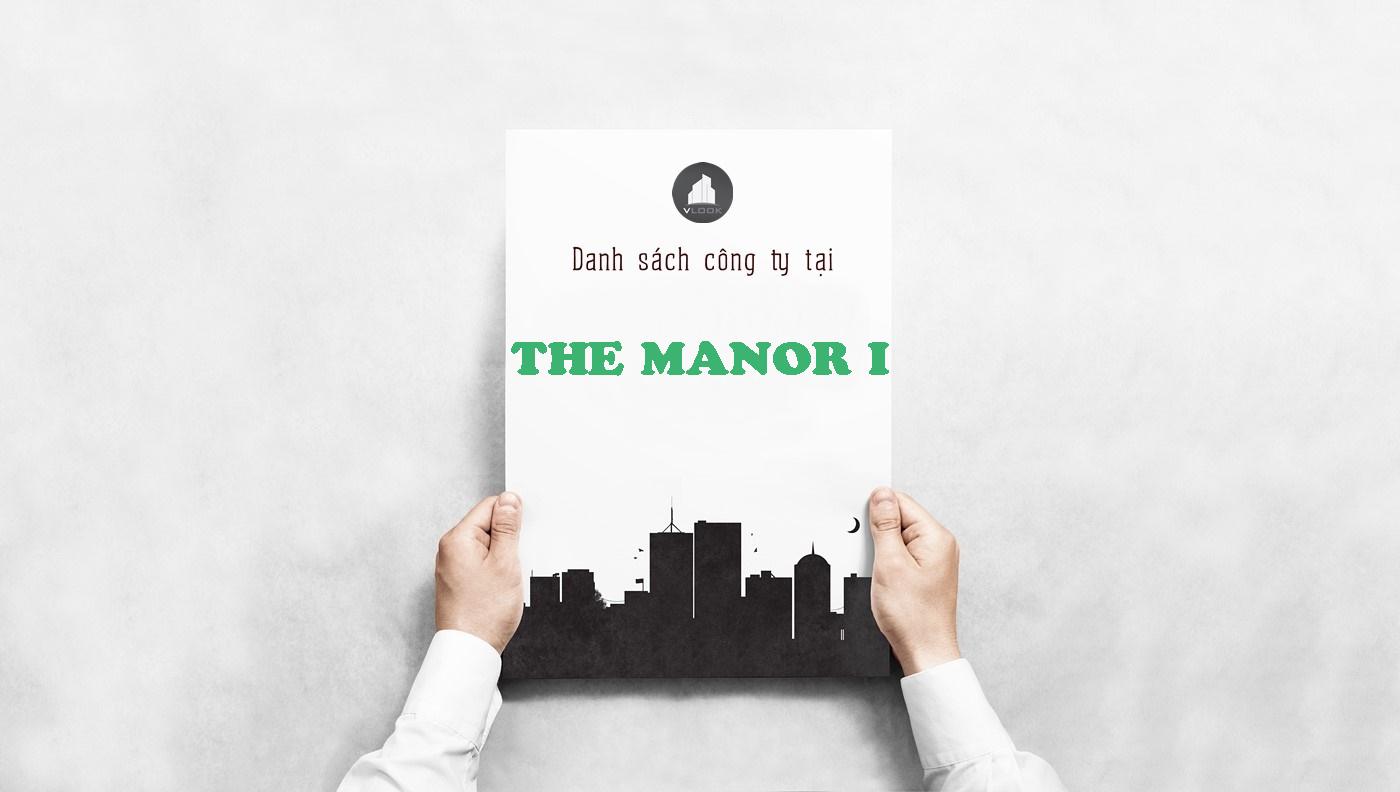 Danh sách công ty tại tòa nhà The Manor I, Nguyễn Hữu Cảnh, Quận Bình Thạnh
