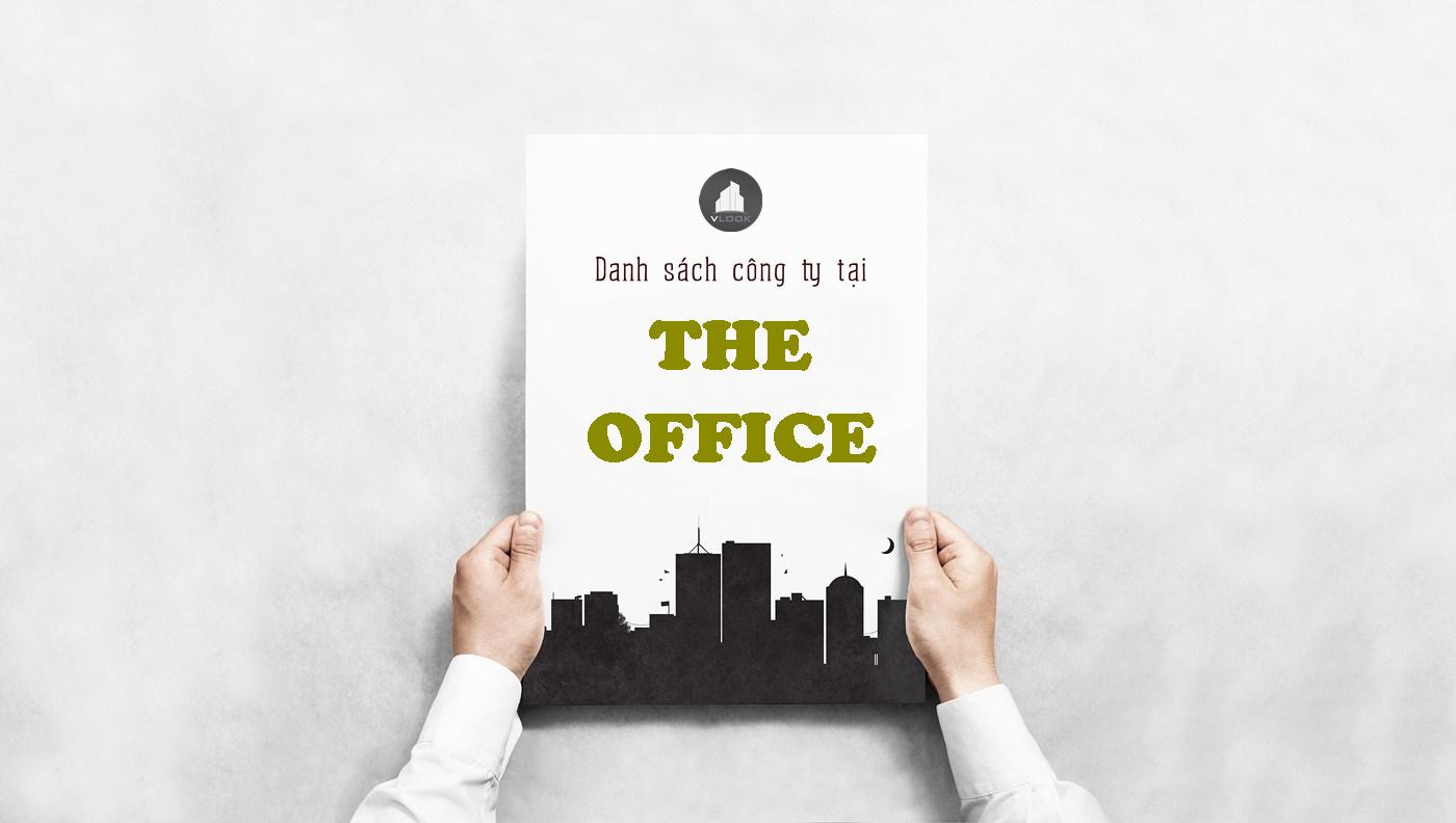 Danh sách công ty tại tòa nhà The Office, Ung Văn Khiêm, Quận Bình Thạnh