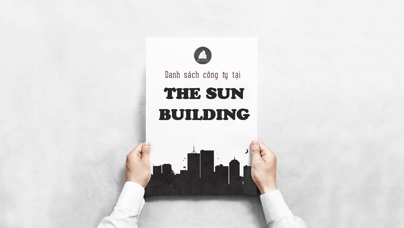 Danh sách công ty tại tòa nhà The Sun Building, Nguyễn Gia Trí, Quận Bình Thạnh