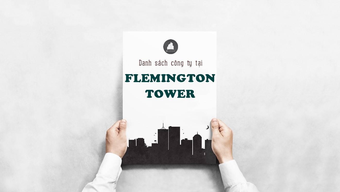 Danh sách công ty tại tòa nhà The Flemington Tower, Lê Đại Hành Quận 11