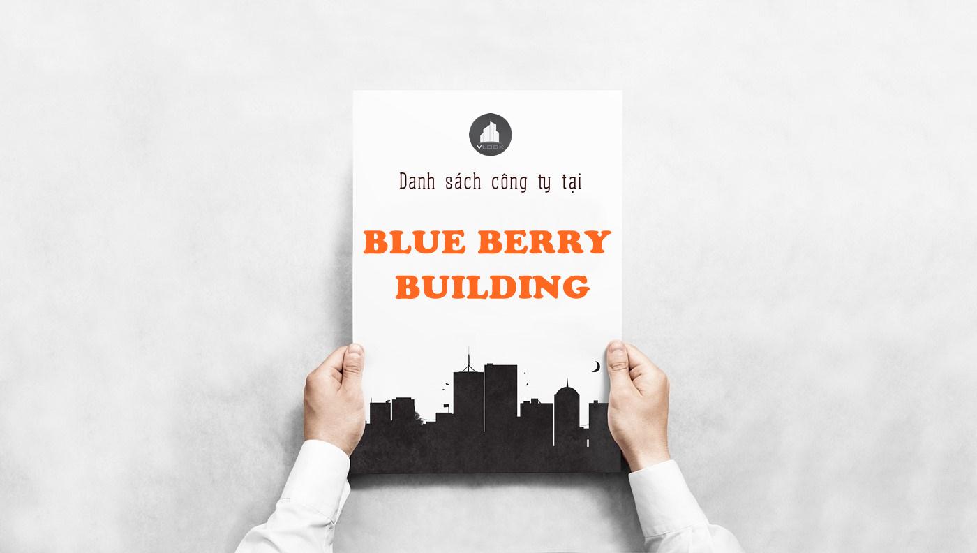 Danh sách công ty tại tòa nhà Blue Berry Building, Đường A52, Quận Tân Bình