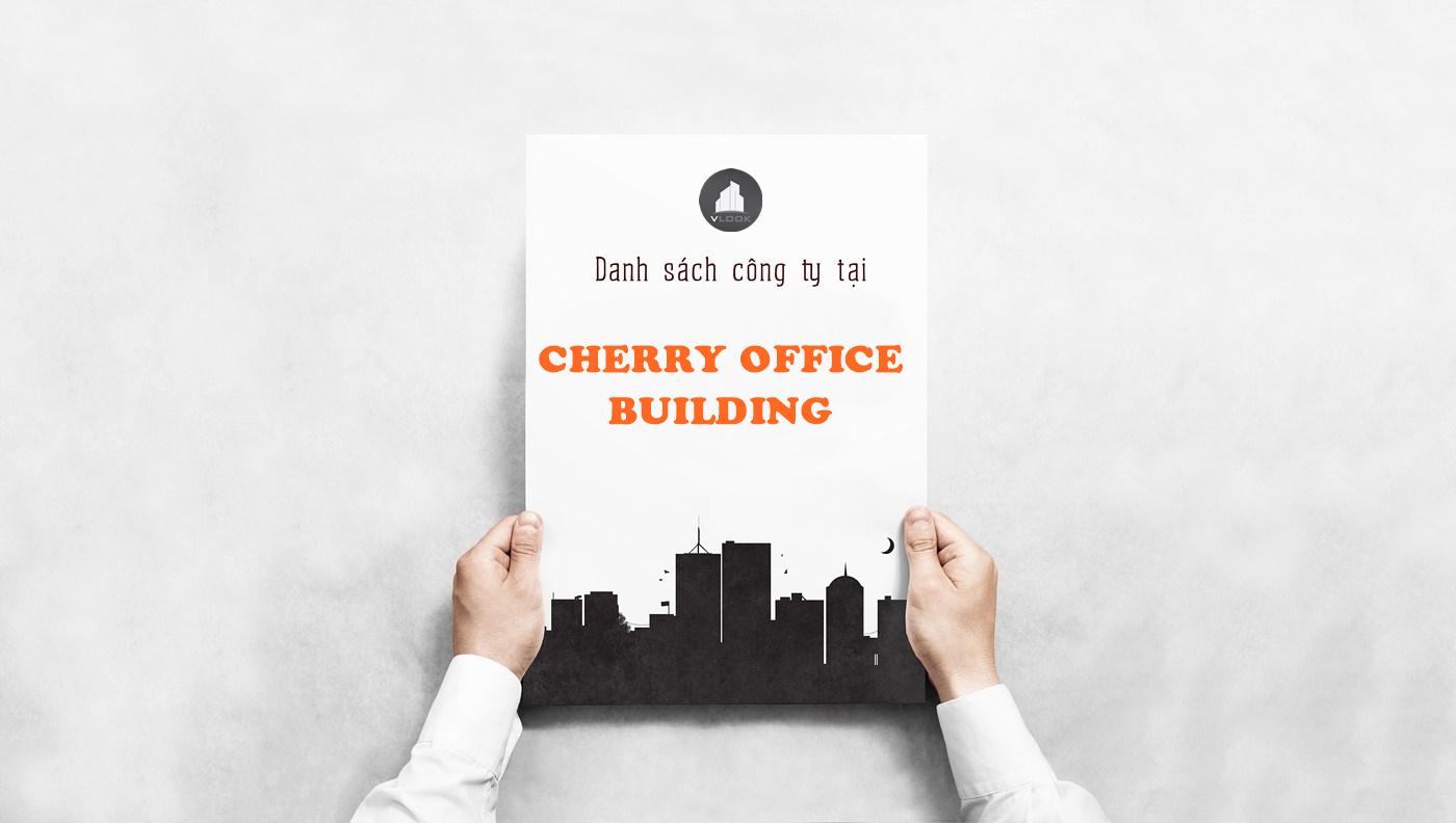 Danh sách công ty tại tòa nhà Cherry Office Building, Đường C22, Quận Tân Bình