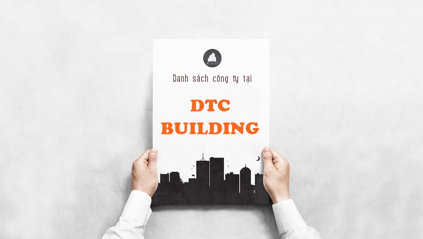 Danh sách công ty tại tòa nhà DTC Building, Cộng Hòa, Quận Tân Bình