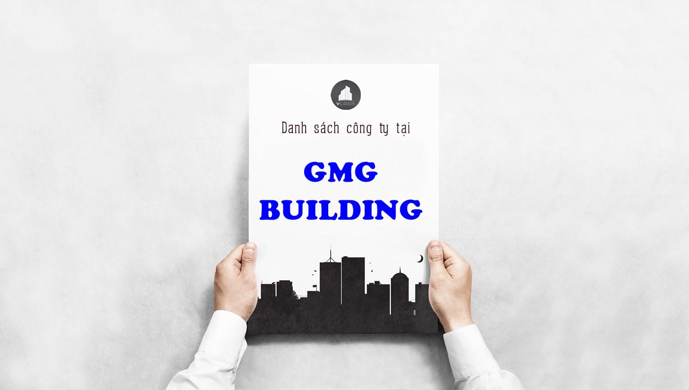 Danh sách công ty tại tòa nhà GMG Building, Lý Thường Kiệt, Quận Tân Bình