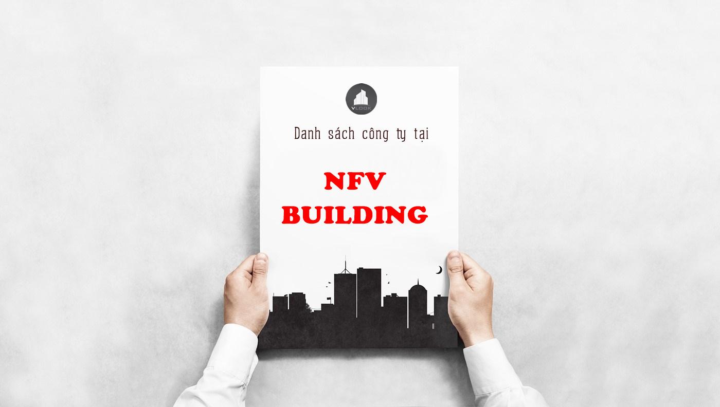 Danh sách công ty tại tòa nhà NFV Building, Hoàng Việt, Quận Tân Bình