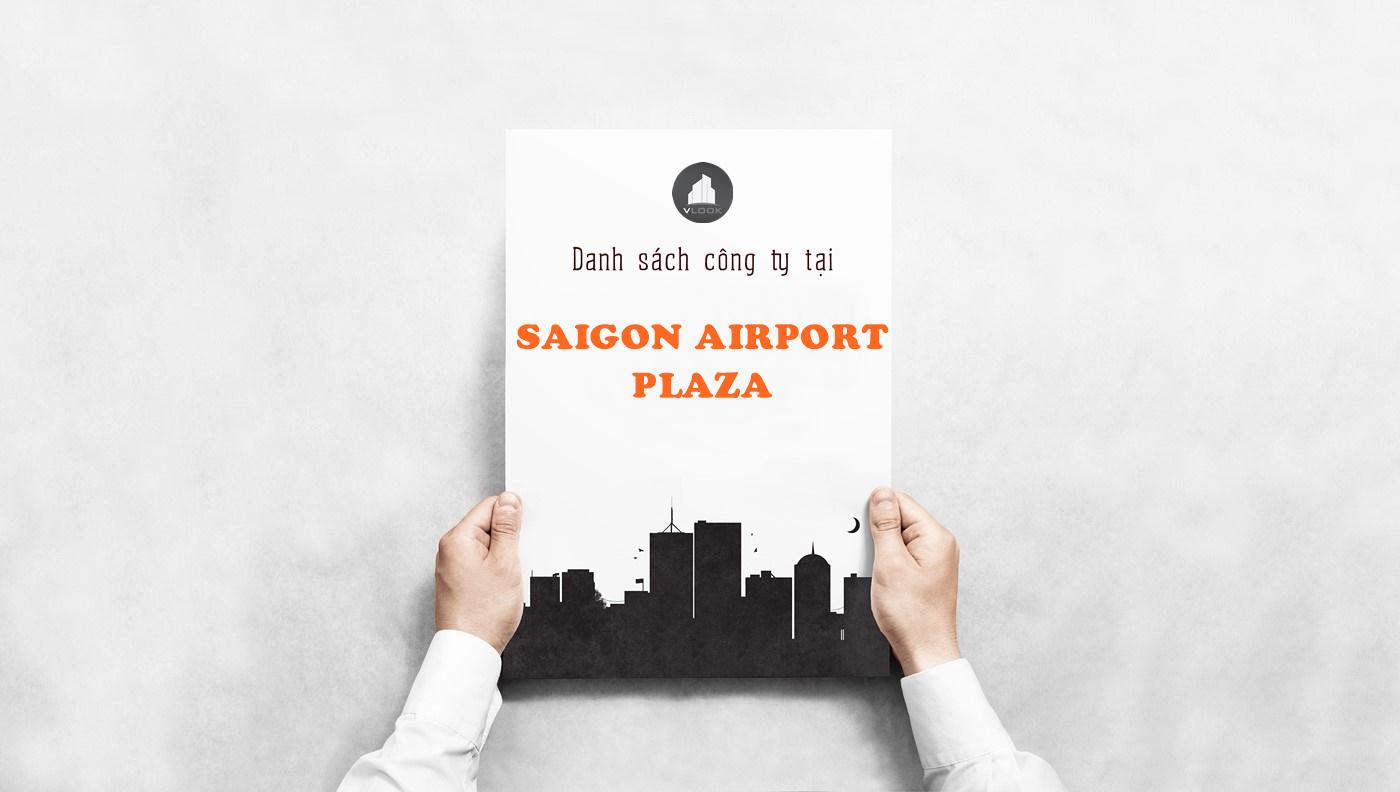 Danh sách công ty tại tòa nhà Saigon Airport Plaza, Bạch Đằng, Quận Tân Bình