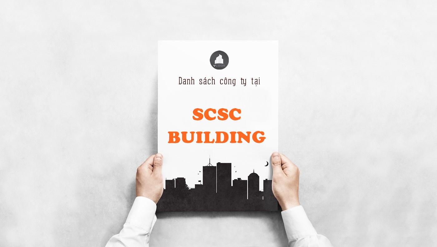 Danh sách công ty tại tòa nhà SCSC Building, Phan Thúc Duyện, Quận Tân Bình