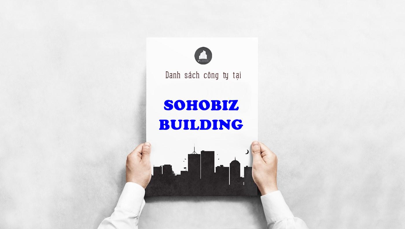 Danh sách công ty tại tòa nhà Sohobiz Building, Huỳnh Lan Khanh, Quận Tân Bình