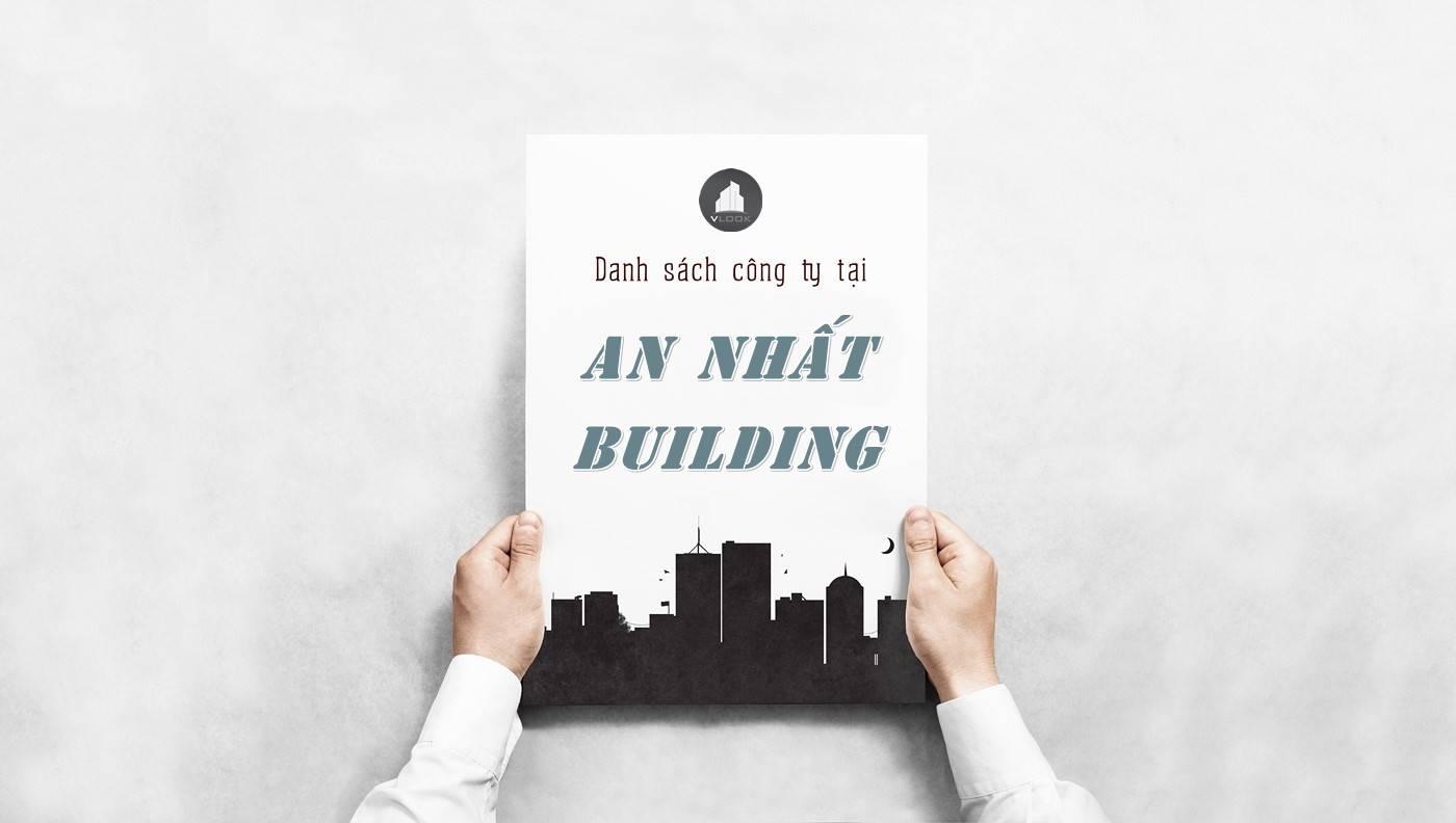 Danh sách công ty tại tòa nhà An Nhất Building, Quận 3
