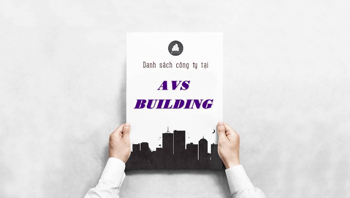 Danh sách công ty tại tòa nhà AVS Building, Quận 3