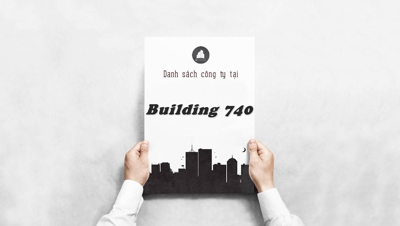 Danh sách công ty thuê văn phòng tại Building 740, Quận 10
