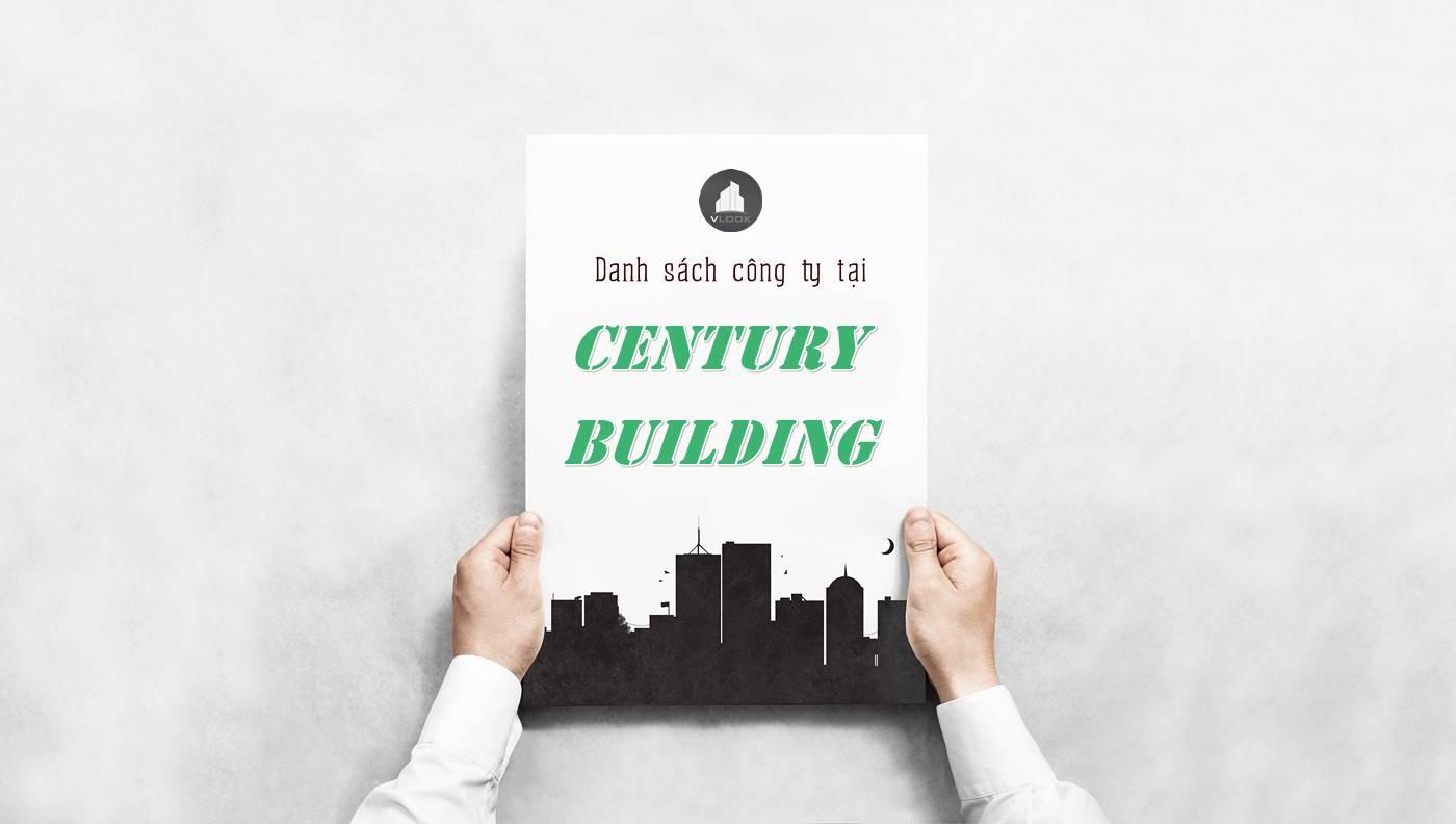Danh sách công ty tại tòa nhà Century Building, Quận 3