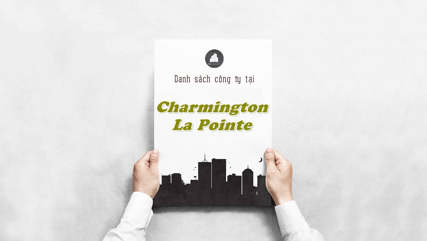 Danh sách công ty tại tòa nhà Charmington La Pointe, Quận 10