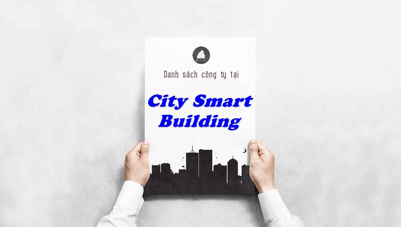 Danh sách công ty tại tòa nhà City Smart Building, Quận 3