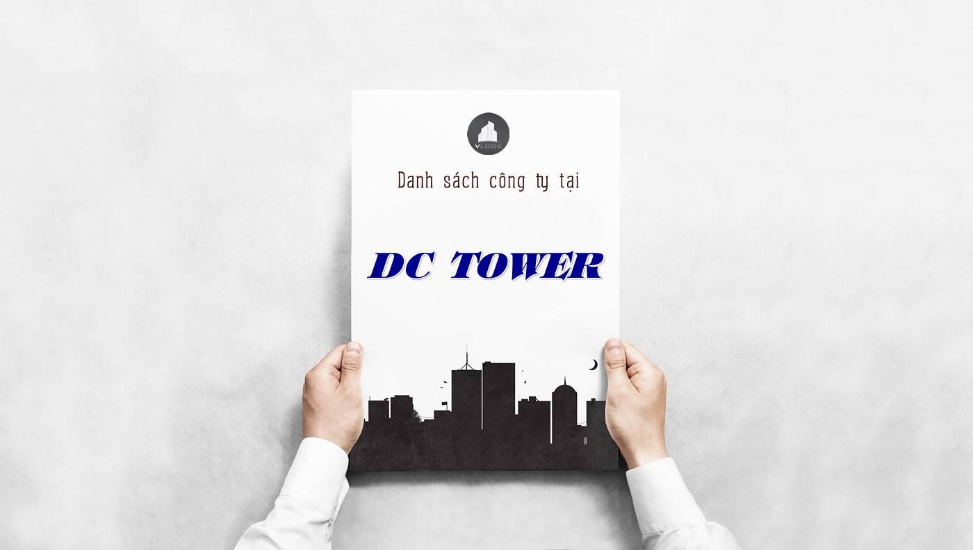 Danh sách công ty tại tòa nhà DC Tower, Quận 3