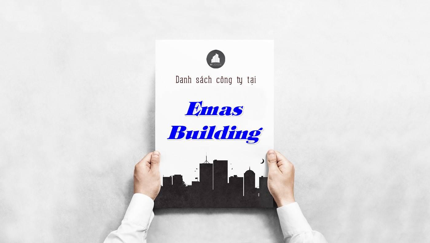Danh sách công ty tại tòa nhà Emas Building, Quận 10