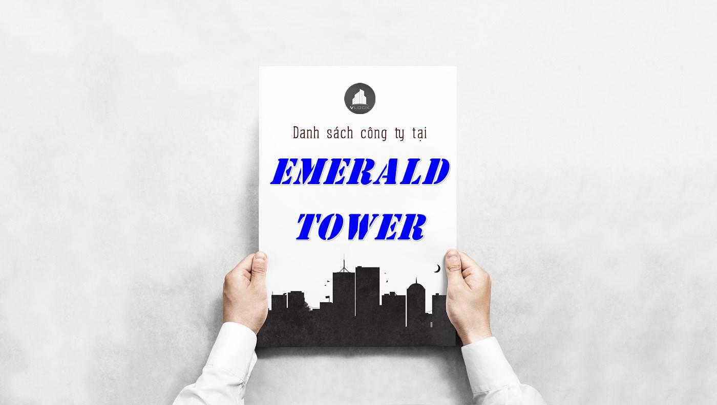 Danh sách công ty tại tòa nhà Emerald Tower, Quận 3