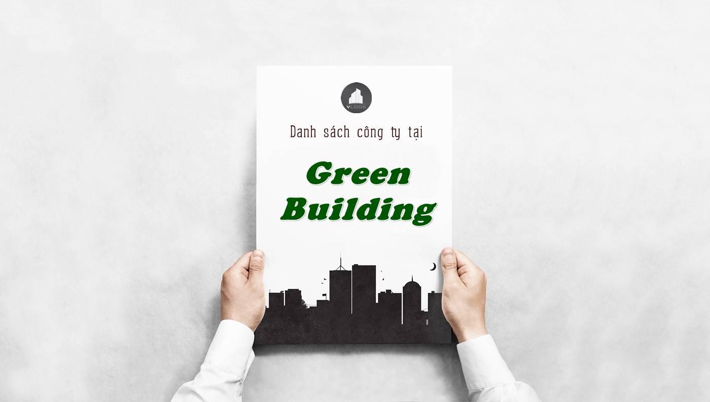 Danh sách công ty tại tòa nhà Green Building, Quận 3