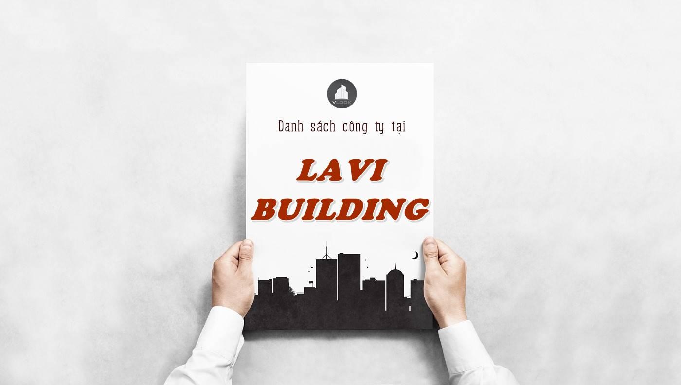 Danh sách công ty thuê văn phòng tại Lavi Building, Quận 10