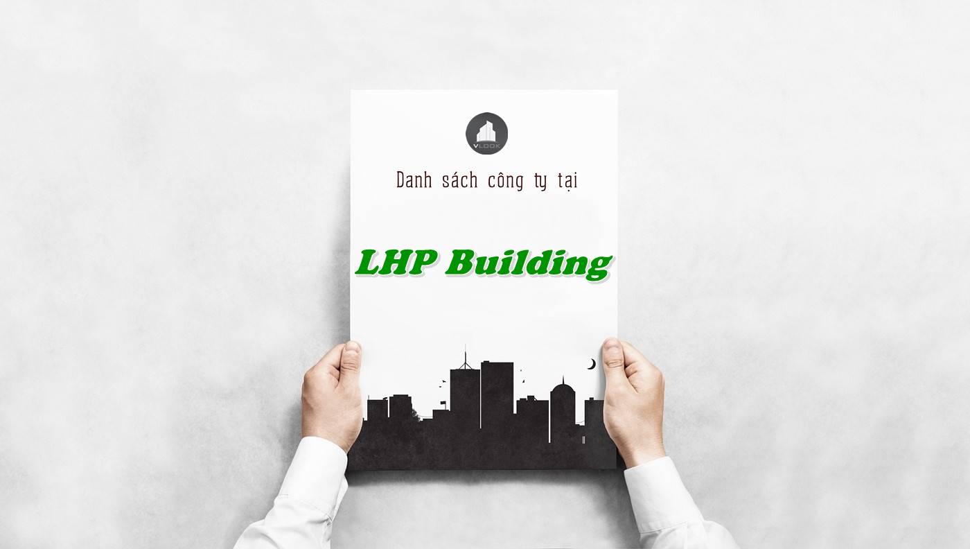 Danh sách công ty tại tòa nhà LHP Building, Quận 10