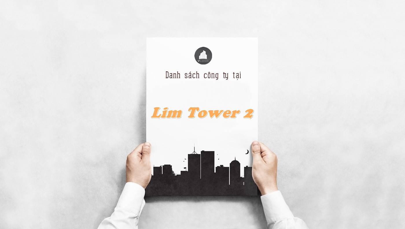 Danh sách công ty tại tòa nhà Lim Tower 2, Quận 3