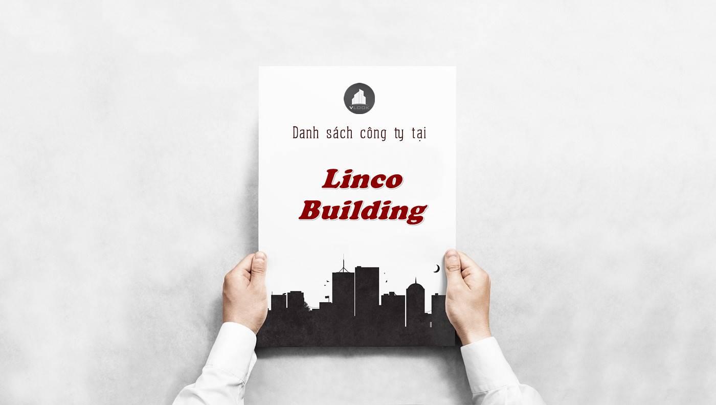 Danh sách công ty tại tòa nhà Linco Building, Quận 3