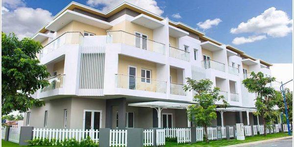 Cao ốc cho thuê văn phòng Melosa Garden, Đường số 7, Quận 9, TPHCM - vlook.vn