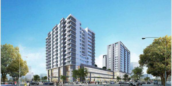 Cao ốc cho thuê văn phòng Cộng Hòa Garden, Quận Tân Bình, TPHCM - vlook.vn