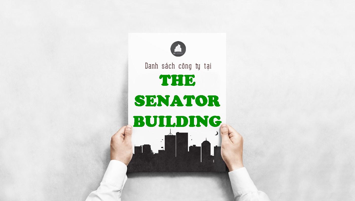 Danh sách công ty tại tòa nhà The Senator Building, Xuân Thủy, Quận 2