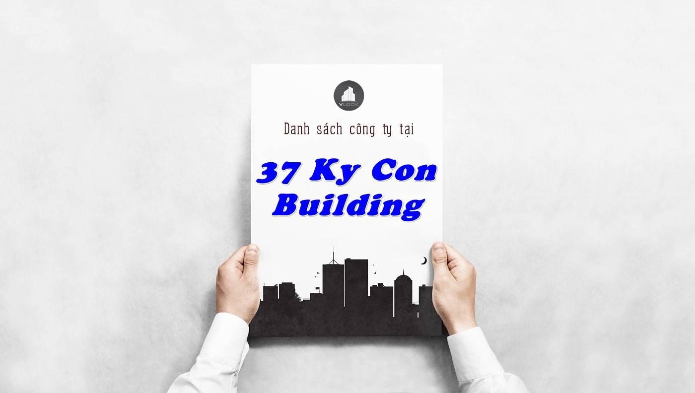 Danh sách công ty thuê văn phòng tại 37 Ký Con Building, Quận 1