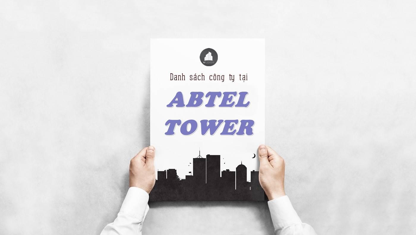 Danh sách công ty tại tòa nhà Abtel Tower, Quận 10