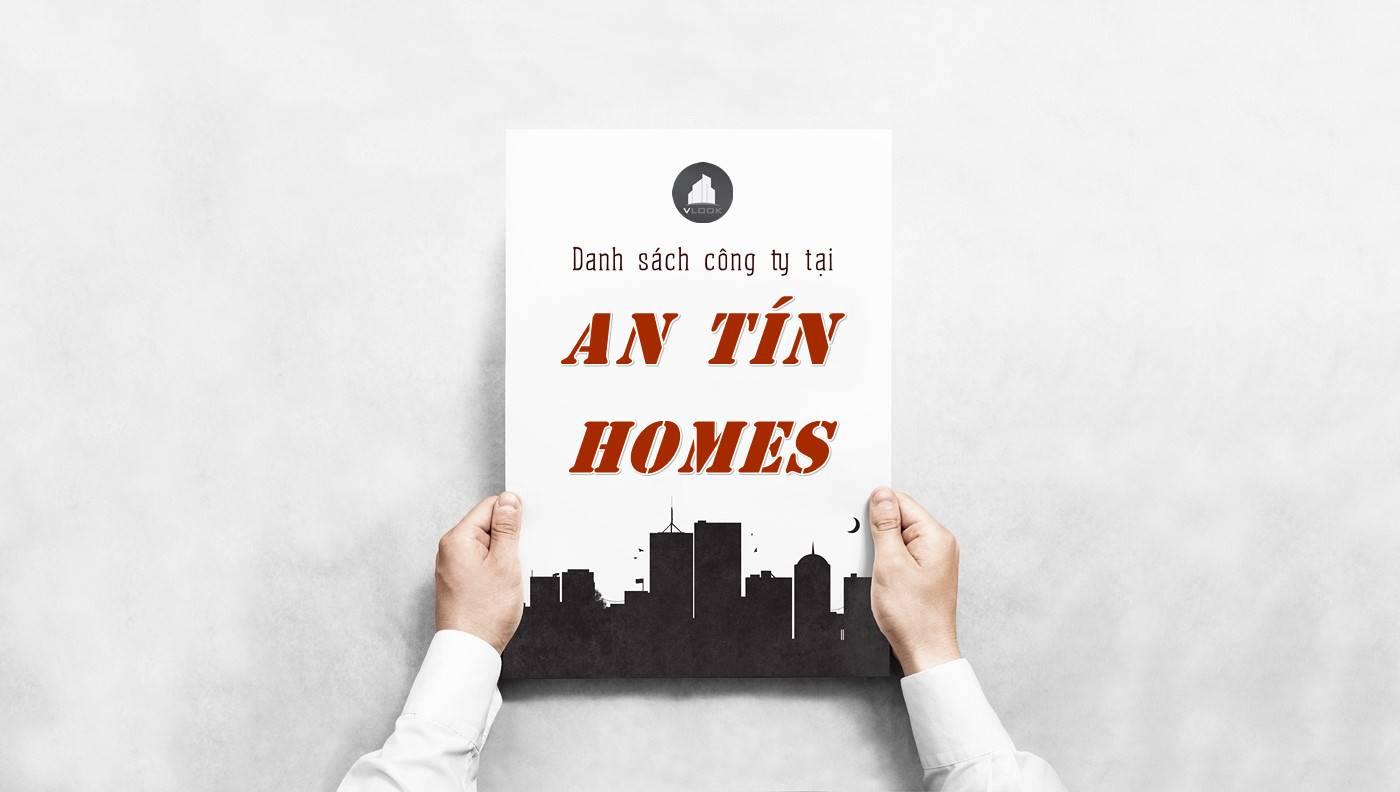 Danh sách công ty thuê văn phòng tại An Tín Homes, Quận 1