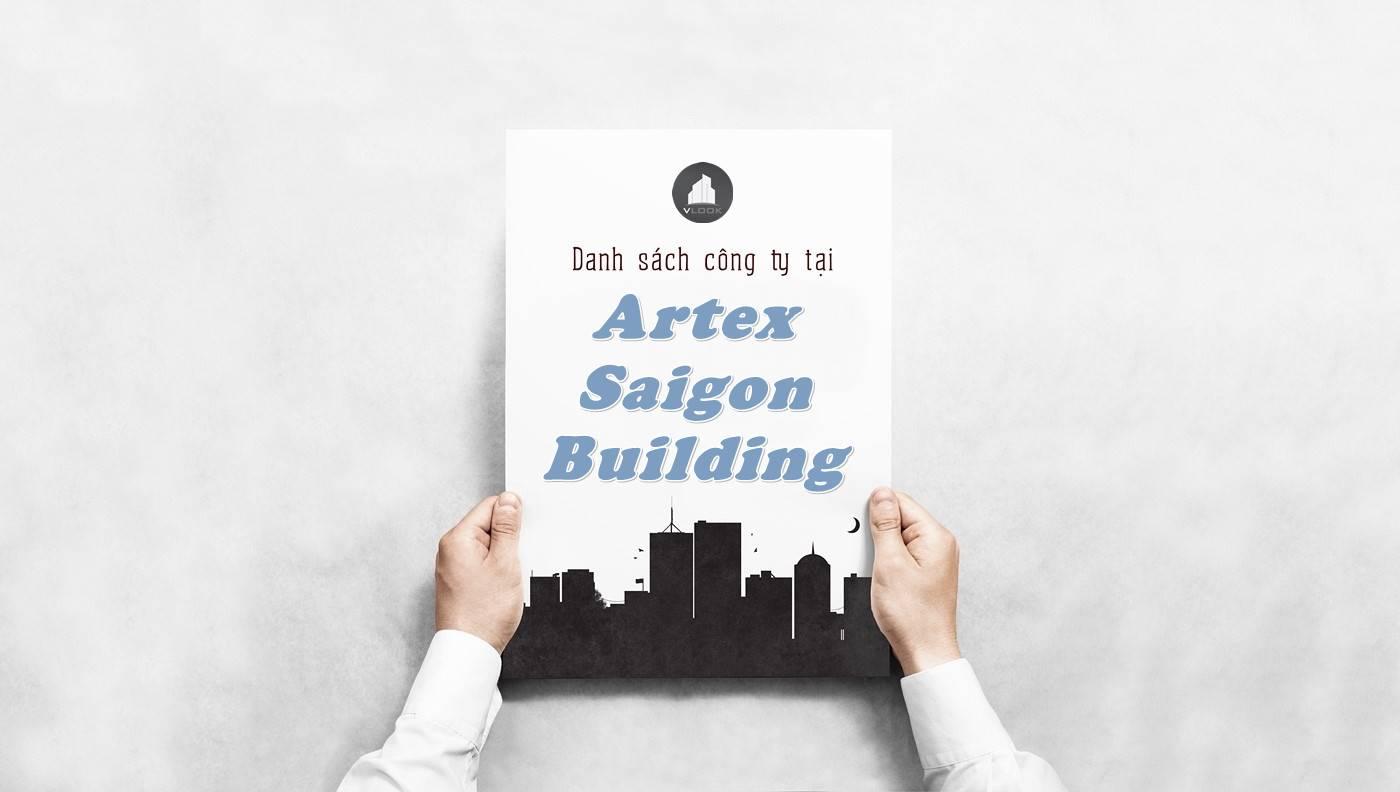Danh sách công ty thuê văn phòng tại Artex Saigon Building, Quận 1