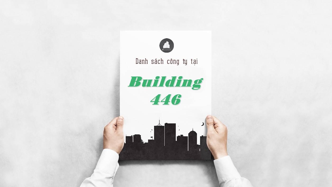 Danh sách công ty thuê văn phòng tại Building 446, Quận 1