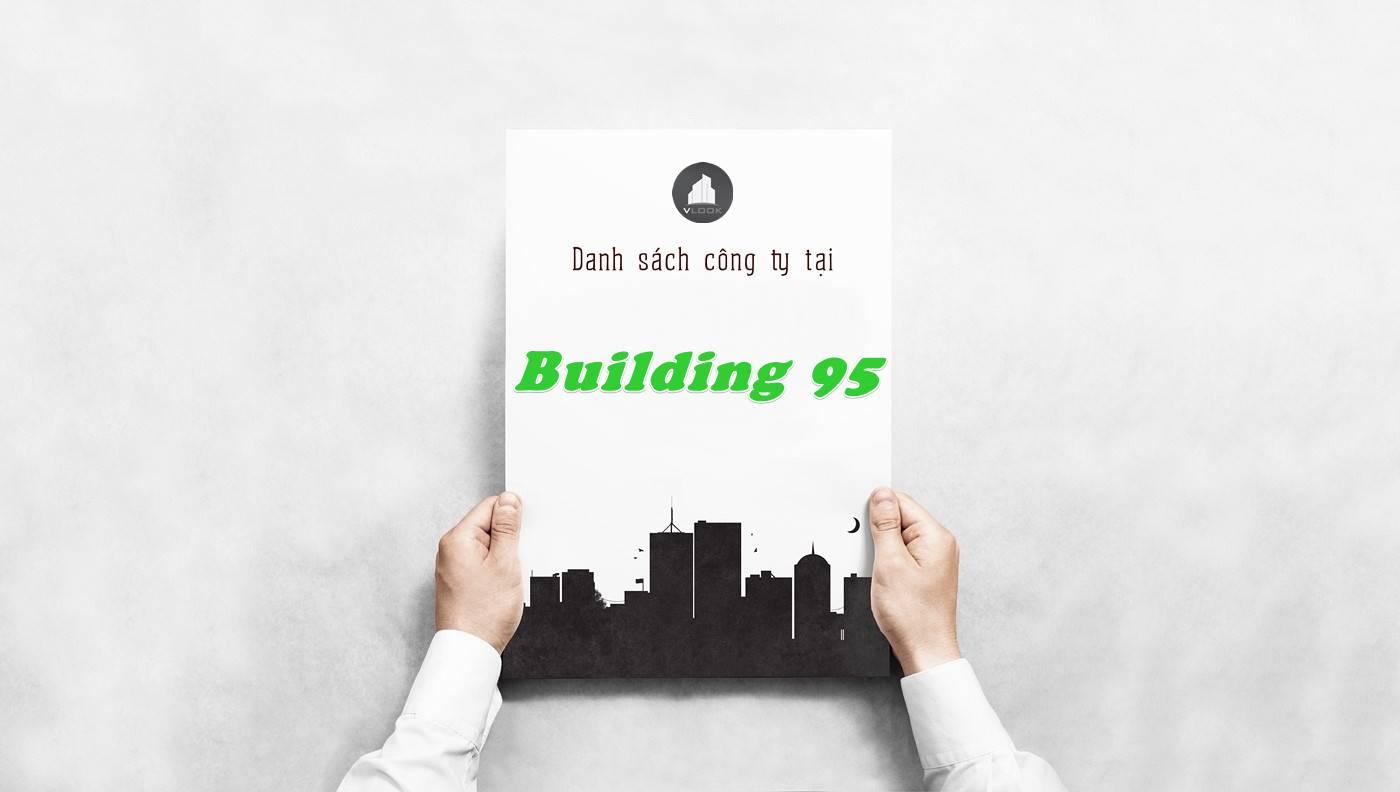 Danh sách công ty thuê văn phòng tại Building 95, Quận 1