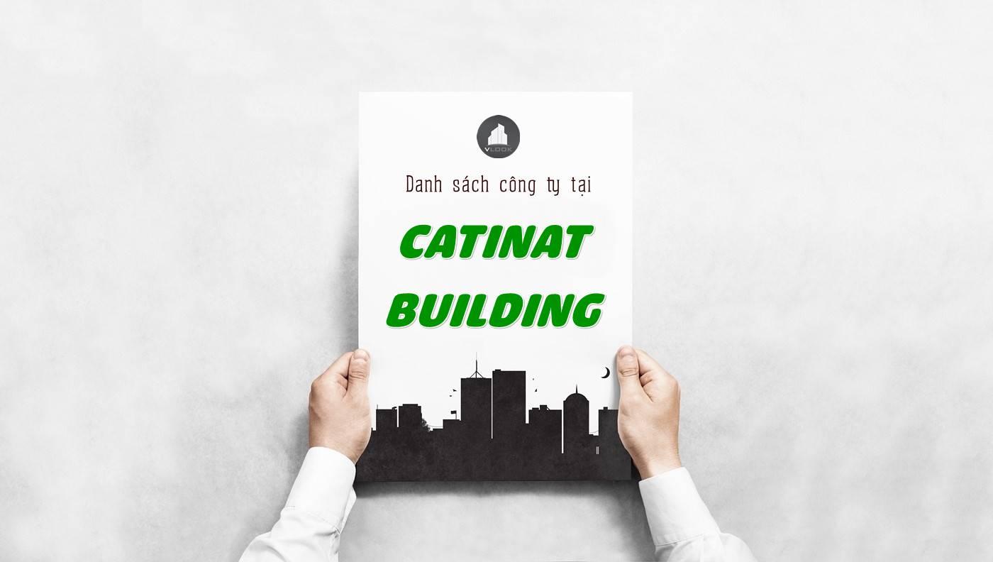 Danh sách công ty thuê văn phòng tại Catinat Building, Quận 1