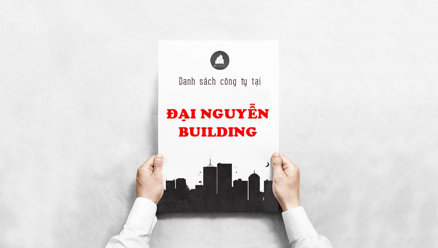 Danh sách công ty tại tòa nhà Đại Nguyễn Building, Cộng Hòa, Quận Tân Bình