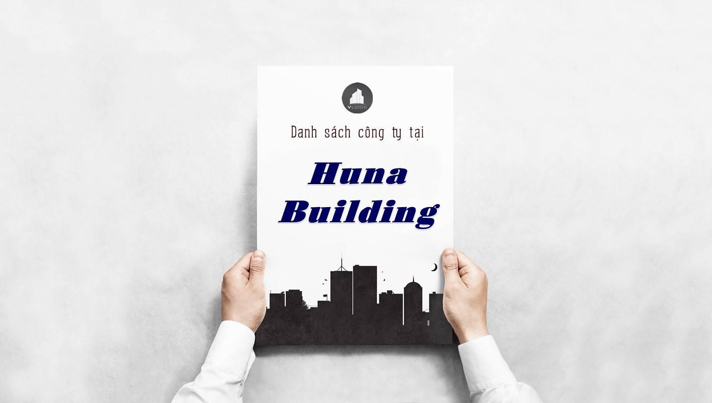 Danh sách công ty thuê văn phòng tại Huna Building, Quận 7