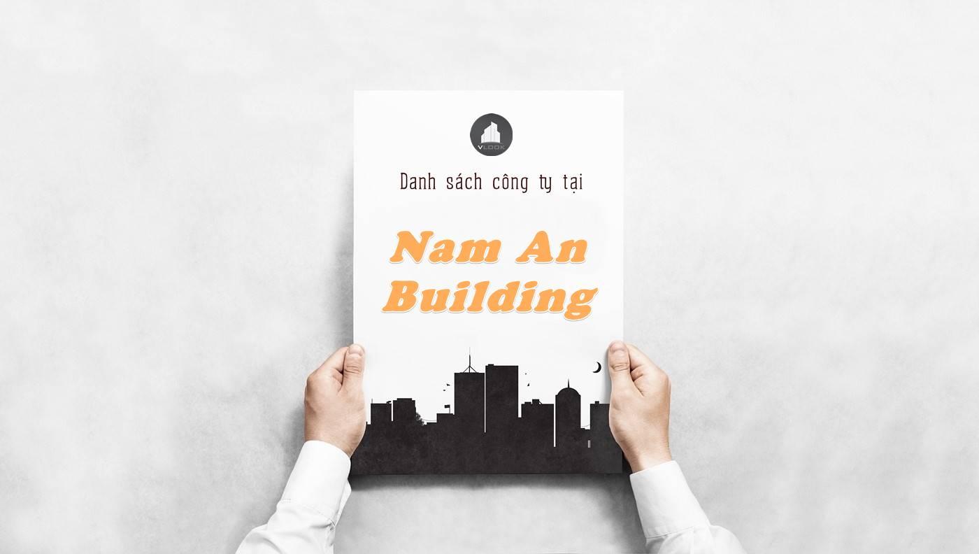 Danh sách công ty tại tòa nhà Nam An Building, Quận 1