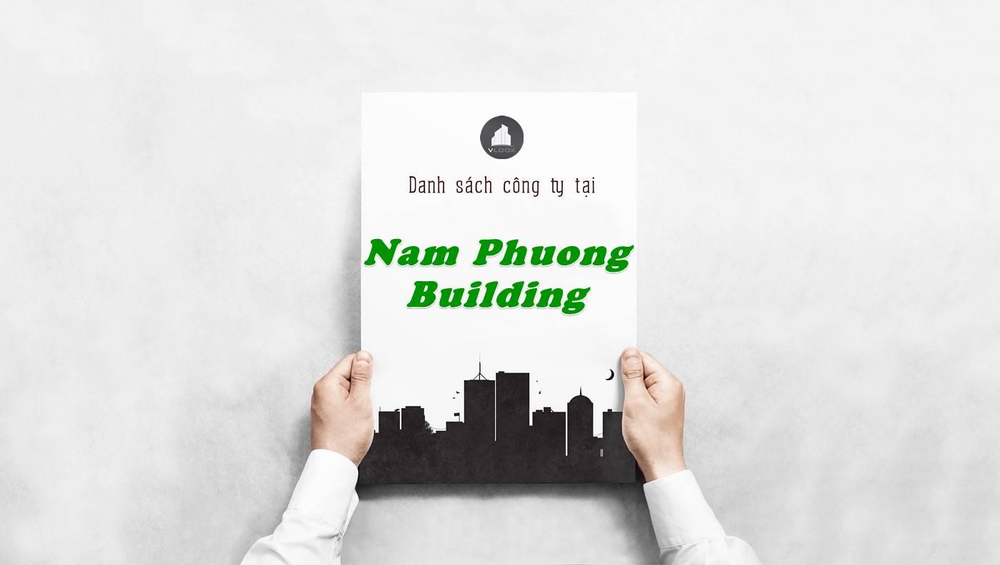 Danh sách công ty thuê văn phòng tại Nam Phương Building, Quận 1