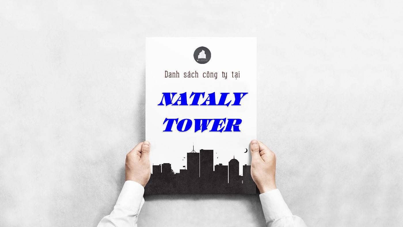 Danh sách công ty thuê văn phòng tại Nataly Tower, Quận 1