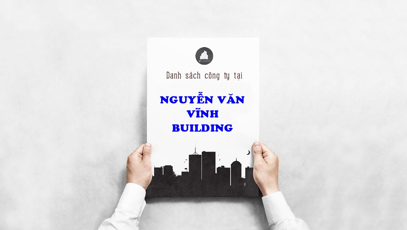 Danh sách công ty tại tòa nhà Nguyễn Văn Vĩnh Building, Nguyễn Văn Vĩnh, Quận Tân Bình