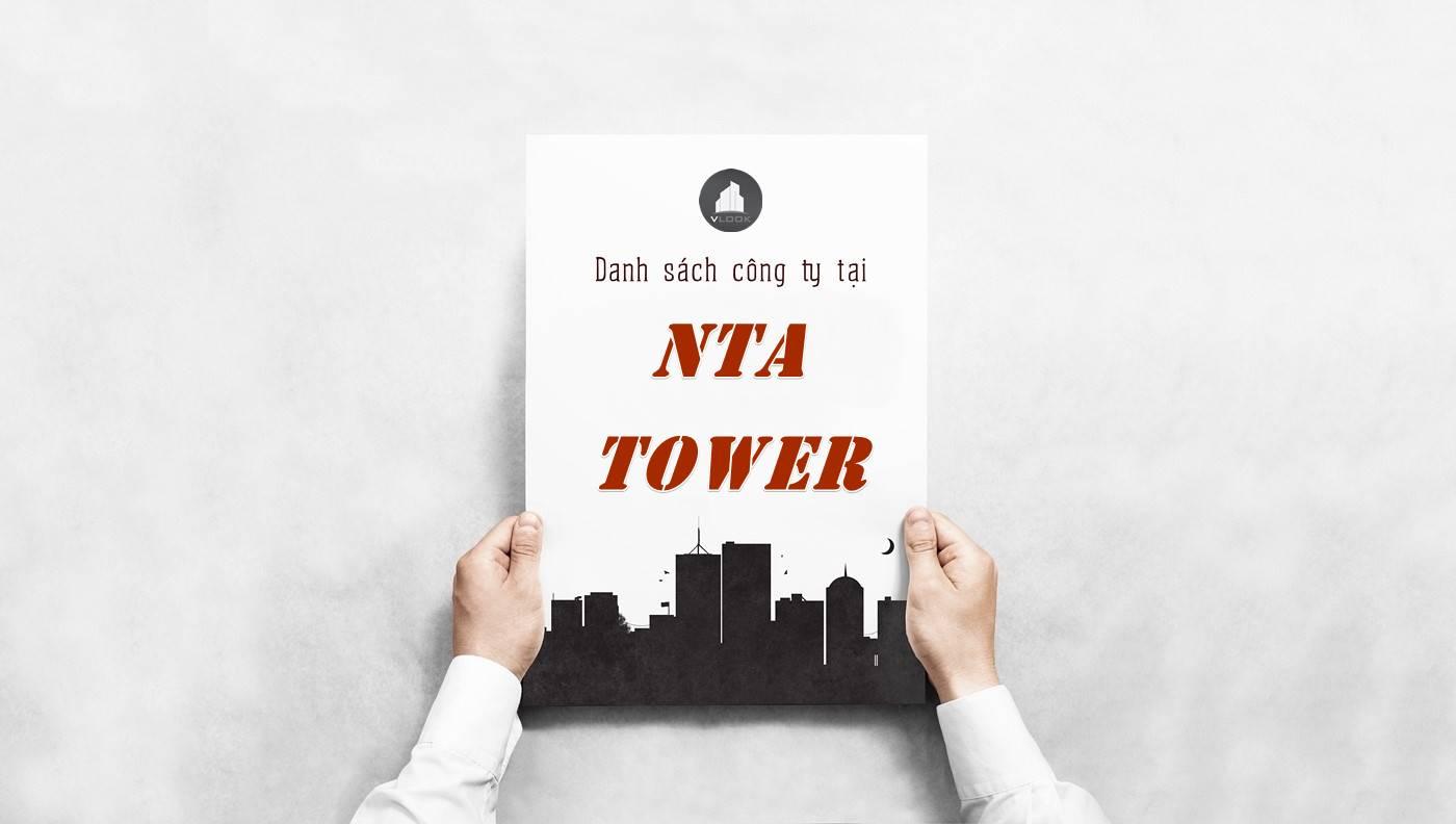 Danh sách công ty thuê văn phòng tại NTA Tower, Quận 1