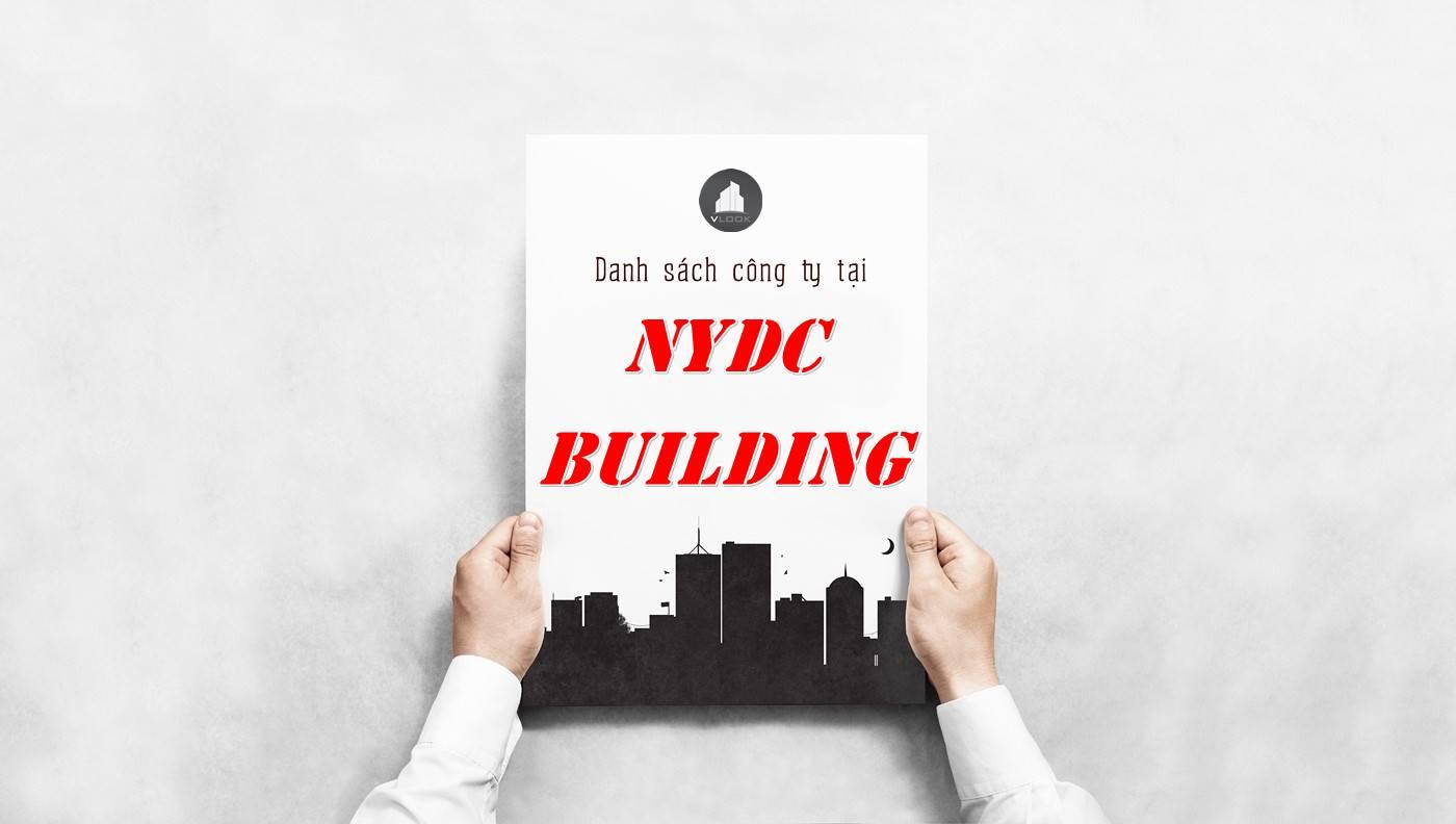 Danh sách công ty thuê văn phòng tại NYDC Building, Quận 1