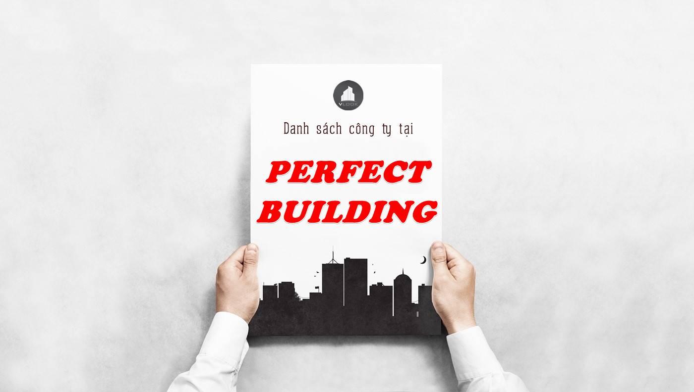 Danh sách công ty thuê văn phòng tại Perfect Building, Quận 1